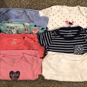 Onesie Lot- 7 pieces